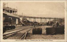 Mollendo Peru c1910 Postcard #6 Puente Para los banos de la Playa