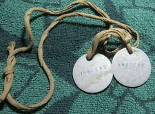 2 Wwl Dog Tags #1862393