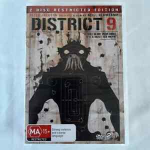 District 9 (DVD, 2-Disc Set) Restricted Edition R4 FREE POST