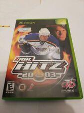 NHL Hitz 20-03 2003(Microsoft Xbox, 2002) COMPLETE, Tested & Working!