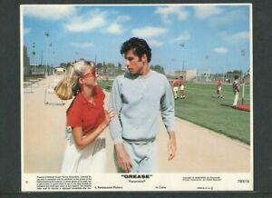 GREASE - 1978 US original 8x10 movie lobby card #5 -Travolta, Olivia Newton-John