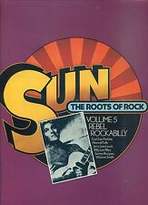 SUN ROOTS OF ROCK rebel rockabilly VOLUME 5 uk  CHARLY REC EX