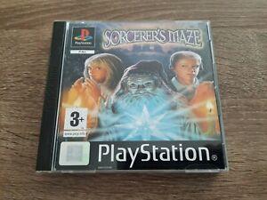 """Jeu Playstation 1 PS1 ps one """" Sorcerer's Maze """" TBE SONY PAL FR SORCERER S MAZE"""