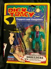 """1990 Playmates Dick Tracy Shoulders Figure 5"""" In Package"""