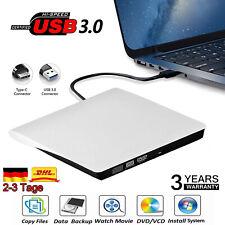 Extern Slim Laufwerk USB3.0 CD-RW DVD Brenner Typ-C für PC Laptop Notebook DHL