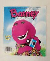 Barney Magazine Summer 1995 Section 1 of 2 Friends Children Activity Vintage