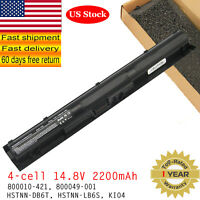 KI04 K104 Battery for HP Pavilion 14-ab000 15-ab000 17-g000 800049-001 14.8V
