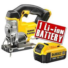 Dewalt DCS331N 18V XR Li-ion Jigsaw Bare Unit + 1 x 4.0ah Battery
