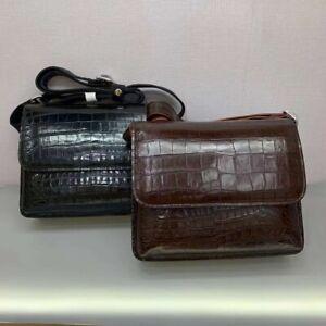 Crocodile Leather Business Shoulder Bag Handbag Satchel Briefcase Messenger