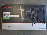 "Rocketfish  Full Motion FIT 40"" - 75"" HD TV Wall Mount   RF-HTVMM170C"