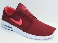 NIKE SB STEFAN JANOSKI MAX MEN'S SNEAKERS TEAM RED/EMBER GLOW-BLACK CHOOSE SIZE