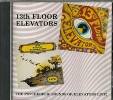 13TH FLOOR ELEVATORS - The Psychedelic Sounds Of & Live Ltd 2 CD Issue!