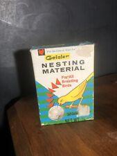 Vintage Geisler Bird Nesting Material Box