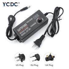Ac To Dc Switching Power Supply Voltage Adjustable Adapter 3 12v9 24v24 36v X1