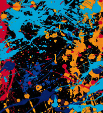 """Dipping Hydrographic Film Water Transfer Printing color mixed Pattern 19x79 """""""