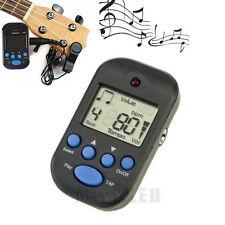 New Black Clip-on Lightweight Portable LCD Digital Beat Tempo Mini Metronom