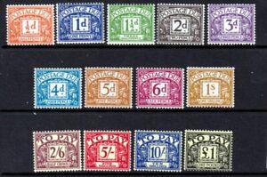 D56-D68 1959-63 Postage Due Set UNMOUNTED MINT(394/436)