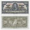 1937 $20 Bank of Canada Coyne Towers K/E 4815733 - F/VF