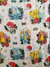 """2017 Pokemon Loungefly Scarf Vaulted 100% Polyester 72""""x44"""""""