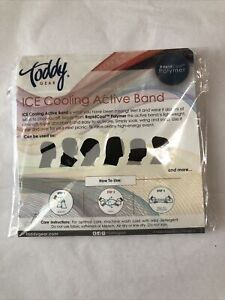 Toddy Gear ICE Cooling Active Band RapidCool Polymer White W/ Holophane Logo New