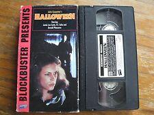 HALLOWEEN BLOCKBUSTER VHS JOHN CARPENTER HORROR SLASHER 1995 RARE HTF