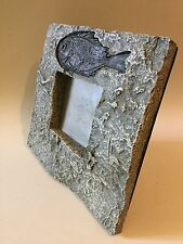 Fossil Fish in Stone Effect Picture / Photo Frame