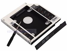 2nd Hard Drive HDD SSD Caddy Adapter Tray for TOSHIBA Satellite L855 L850 C850