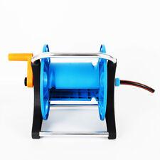 Garden Water Hose Reel Cart Mobile with Wheels Hose Reel Holder Storage Cart