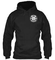 Fire Rescue S - F D Gildan Hoodie Sweatshirt
