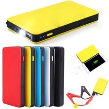 Portable Mini Slim 20000mAh Car Jump Starter Engine Battery Charger Power Bank