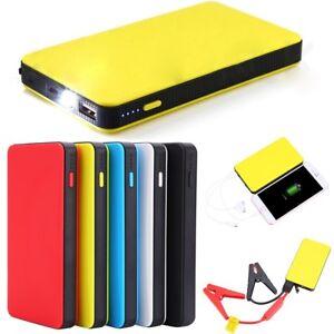 Portable Mini Slim 20000mAh Car Jump Starter Engine Battery Charger Power Bank