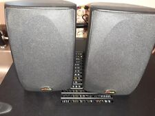 New listing Two x Polk Audio Rm6751 Home Theater (2) Satellite Speakers Black in color