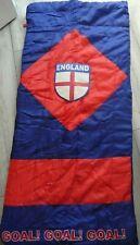 BOYS/CHILDRENS FOOTBALL/ENGLAND SLEEPING BAG FULL ZIP