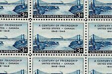 1948 - U.S. - CANADA - #961 Full Mint -MNH- Sheet of 50 Stamps