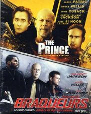 Coffret 2 films blu-ray action : the prince + braqueurs  (NEUF EMBALLE)