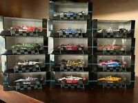 INDY RACING CARS COLLECTION 1:43 DIECAST MODELS. MADE IN PORTUGAL BY ONYX