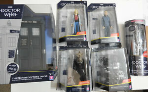 """DOCTOR WHO 5"""" ACTION FIGURES - 13TH DOCTOR / DALEK / JUDOON / GRAHAM FREE UK P&P"""