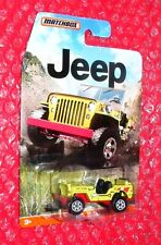 2015 Matchbox  '43 Jeep Willys  DJG62-0910