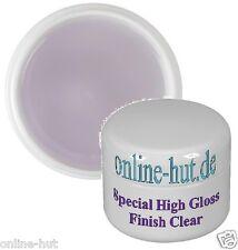 30ml  Special High Gloss Finish Gel Klar, Glanzgel, mittelviskos, transparent