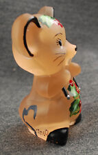 Mouse called Willie decorated for Christmas  series no. 86 of 100