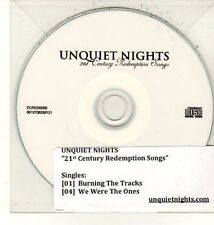 (DC910) Unquiet Nights, 21st Century Redemption Songs - DJ CD