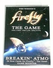 FIREFLY BREAKIN' ATMO GAME BOOSTER PACK 50 Cards Expansion Breaking >NEW<