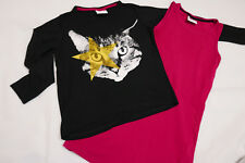 Topolino  2 Teilig  Set -  Shirt + Unterhemd  Long  134 / 140  - Katze