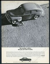 1963 Volvo 122 car photo You Can't Hurt It Much vintage print ad