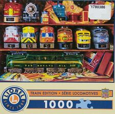 Lionel Train Edition Locomotives Well Stocked Shelves1000 pc Puzzle