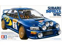 TAMIYA 24199 24218 24231 24240 SUBARU IMPREZA rally road plastic model kits 1:24