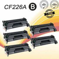 5 Pack Toner Cartridges for HP CF226A 26A Laserjet M402dn M402dw M402n M426fdw