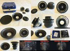 KINOPTIK 9mm f/1.5 T1.7 9mm SUPER-16MM 16 mm BMPCC Lens + PANSPHERON CETO 5.5mm