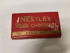 More details for vintage 1950s nestle milk chocolate dummy shop cadbury advertising display bar