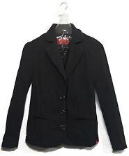 EDC ESPRIT Blazer Jacke Damenjacke Übergangsjacke Büroblazer M 38 40 SCHWARZ K18